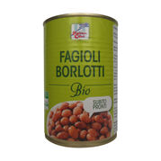Fazuľa Borlotti sterilizovaná BIO 400g La Finestra