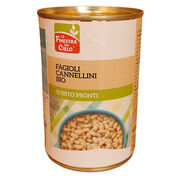 Fazuľa Cannellini sterilizovaná BIO 400g La Finestra