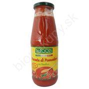 Pasírované paradajky s bazalkou BIO 680g La Finestra
