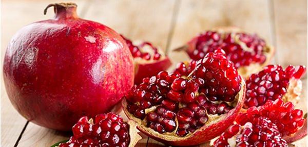 zdravotné účinky granátového jablka