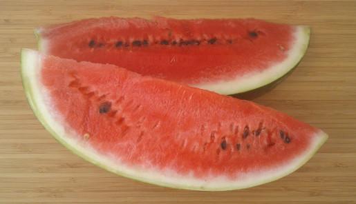 červený melón hydratuje a zvyšuje koncentráciu