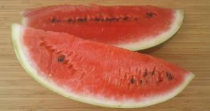 červený melón hydratuje a zlepšuje koncentráciu