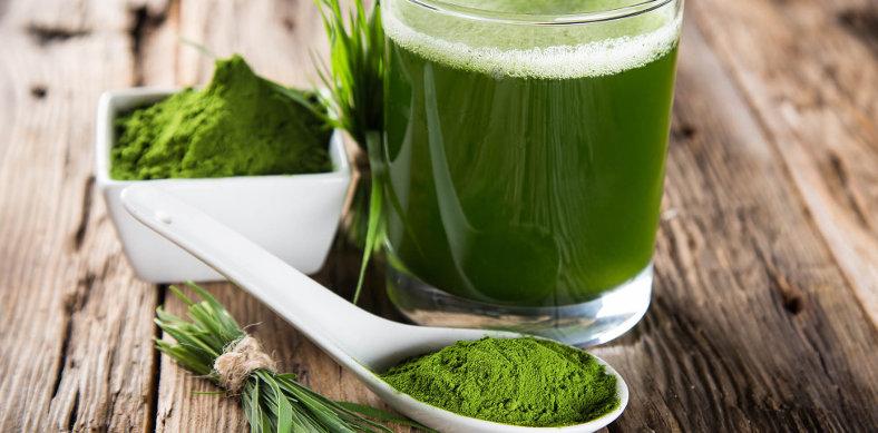 zelený jačmeň posilní imunitu a ochráni pred chrípkou