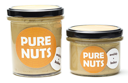 Arašidové maslo s kokosom 330g Pure Nuts