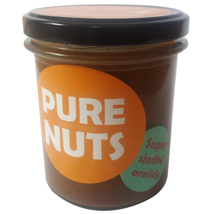 Arašidy super sladké 330g Pure Nuts