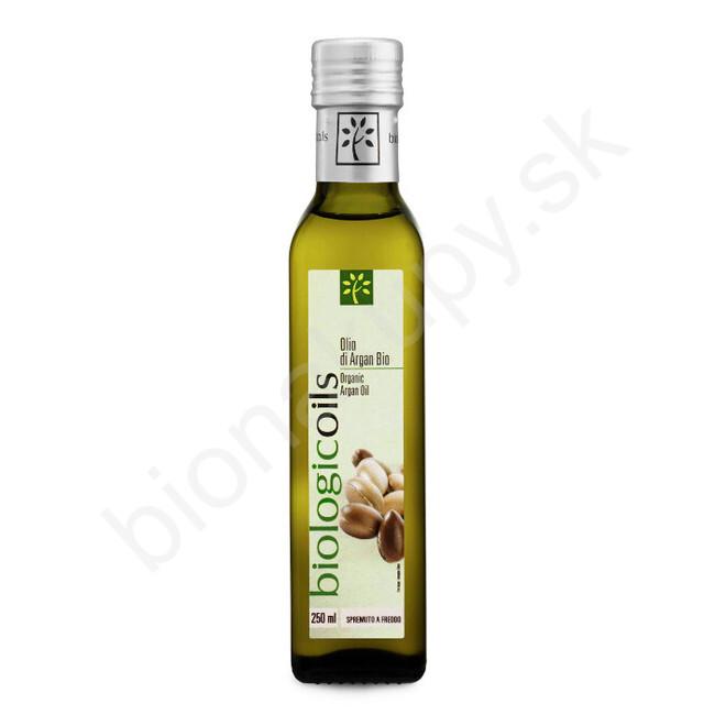 Arganový olej z Maroka BIO 250ml Biotuscany