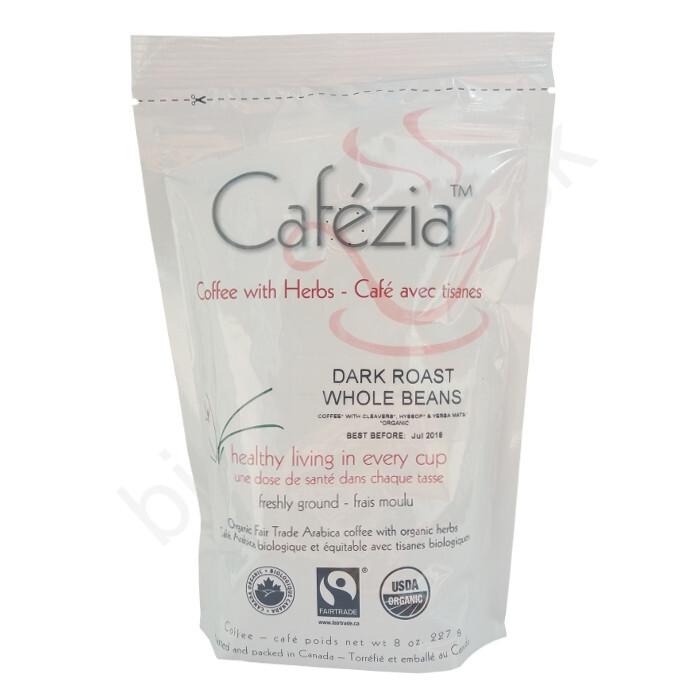 Cafézia Dark roast zrnková 227g
