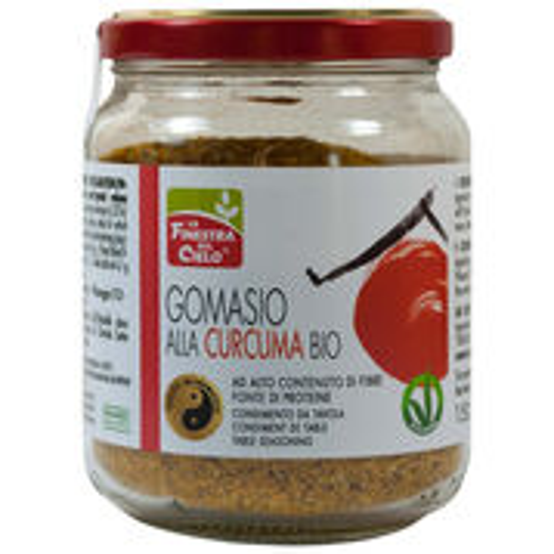 Gomasio s kurkumou BIO 150g La Finestra