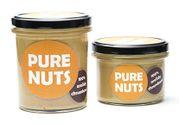 Arašidové maslo chrumkavé 330g Pure Nuts