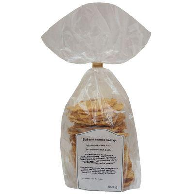 Ananás sušený krúžky 500g Nutrivital