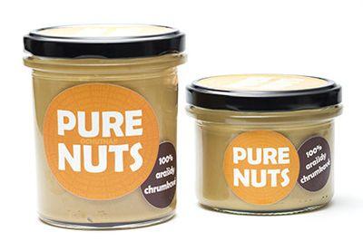 100% arašidy chrumkavé 330g Pure Nuts