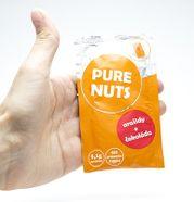 Arašidové maslo s čokoládou Energy 25g Pure Nuts