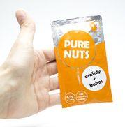Arašidové maslo s kokosom Energy 25g Pure Nuts