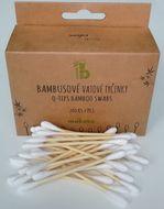Bambusové vatové tyčinky 200ks Mobake
