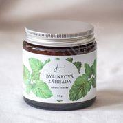 Bylinková záhrada - Medovka - sójová sviečka Jemnô