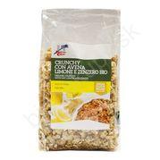 Crunchy granola citrón a zázvor BIO 375g La Finestra