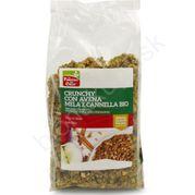 Crunchy granola jablko a škorica BIO 375g La Finestra