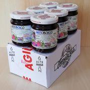 Džem z lesného ovocia TOP BIO 6 x 210g Agritur