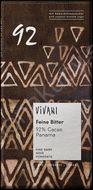 Horká čokoláda 92% BIO 80g Vivani