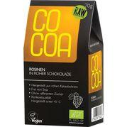 Hrozienka v surovej čokoláde RAW BIO 70g Cocoa