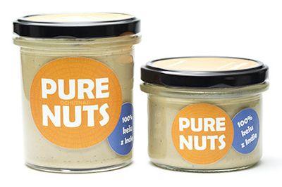 100% kešu z Indie 330g Pure Nuts