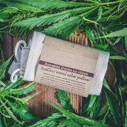 Konopné vrecko na potraviny HappyHempy