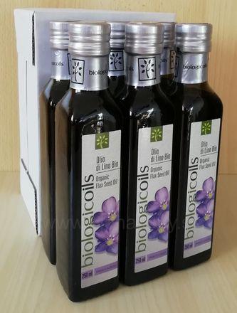 Ľanový olej BIO 6 x 250ml Biotuscany