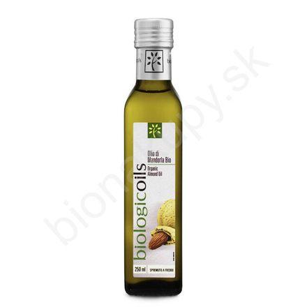 Mandľový olej BIO 250ml Biotuscany