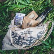 Bavlnená nákupná taška Cannature