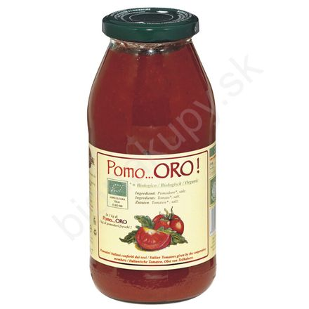Pasírované paradajky TOP BIO 540g Agritur