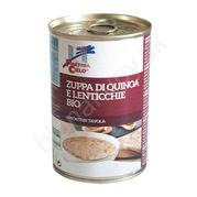 Polievka s quinoa a šošovicou BIO 400g La Finestra