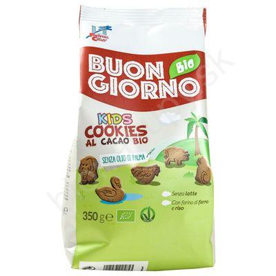 Špaldové keksíky pre deti s kakaom a vápnikom BIO 350g La Finestra