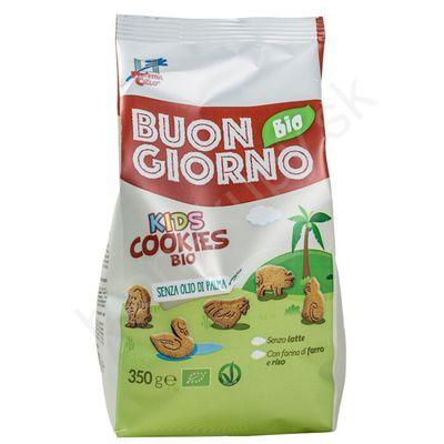 Špaldové keksíky pre deti s vápnikom BIO 350g La Finestra