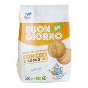 Špaldové keksy s cícerom a kokosom BIO 250g La Finestra