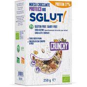 SGLUT Crunchy bezlepková granola proteín BIO 250g