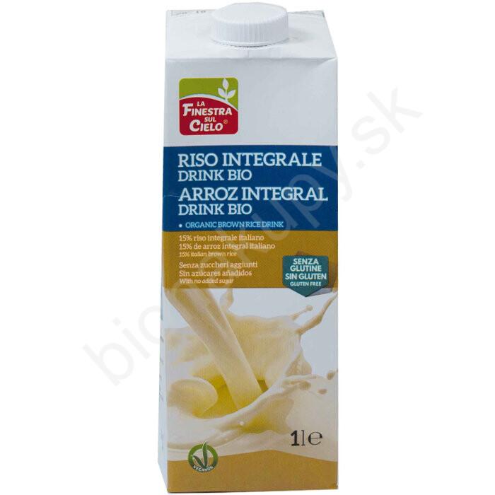 Ryžový nápoj celozrnný 15% BIO 1l La Finestra