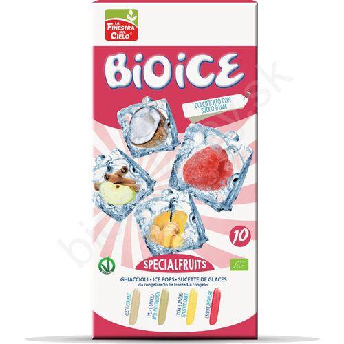 BIO ICE Špeciálovocné vodové nanuky 10 x 40ml La Finestra